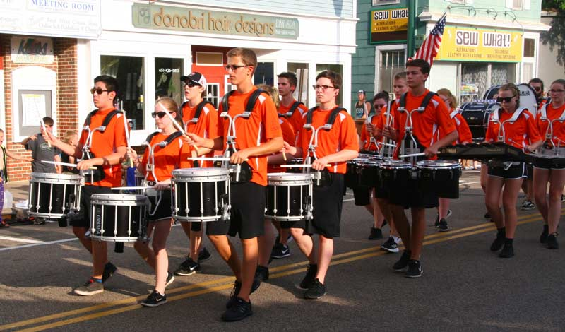 Manitou Days Parade Drummers